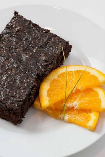 Click to enlarge Black Bean Brownie