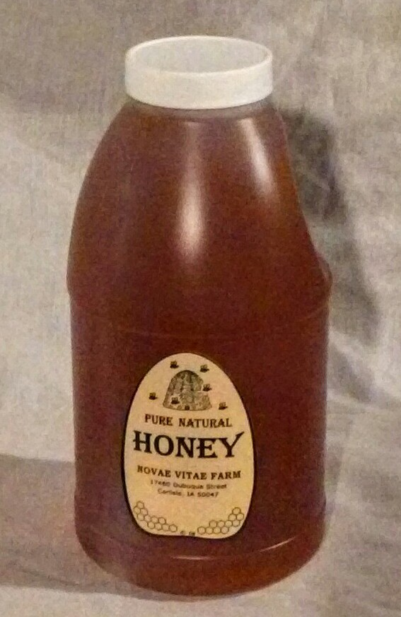 Click to enlarge Pure Raw Honey - 3# Jug