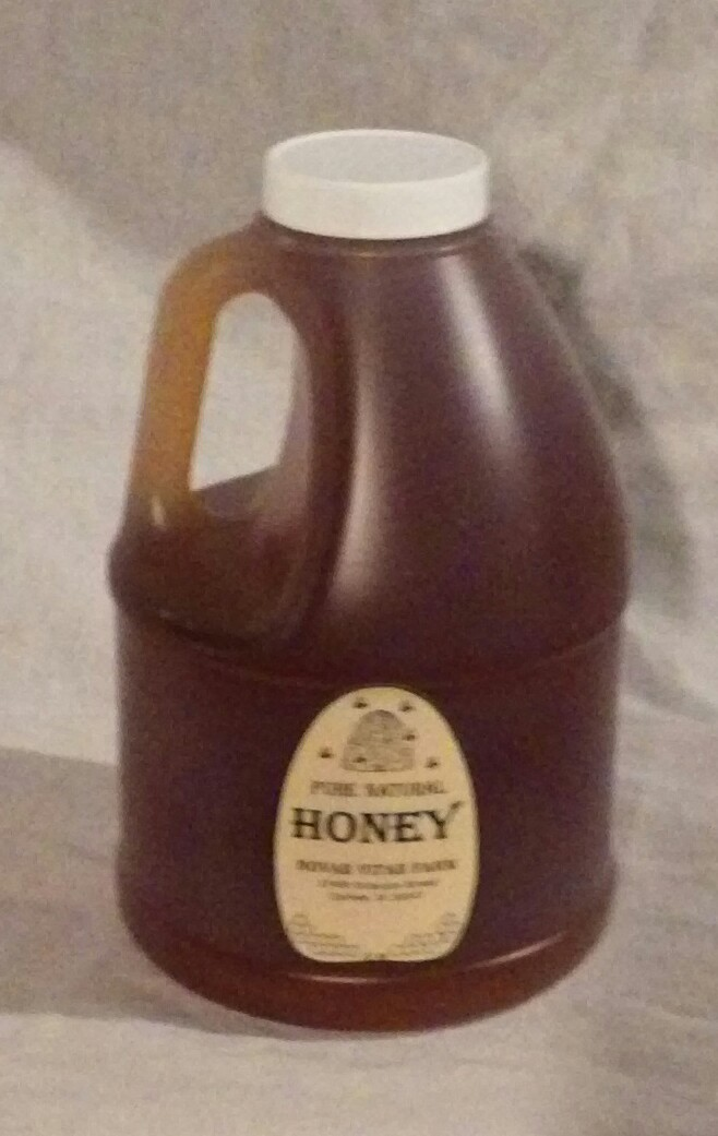 Click to enlarge Pure Raw Honey - 5# Jug