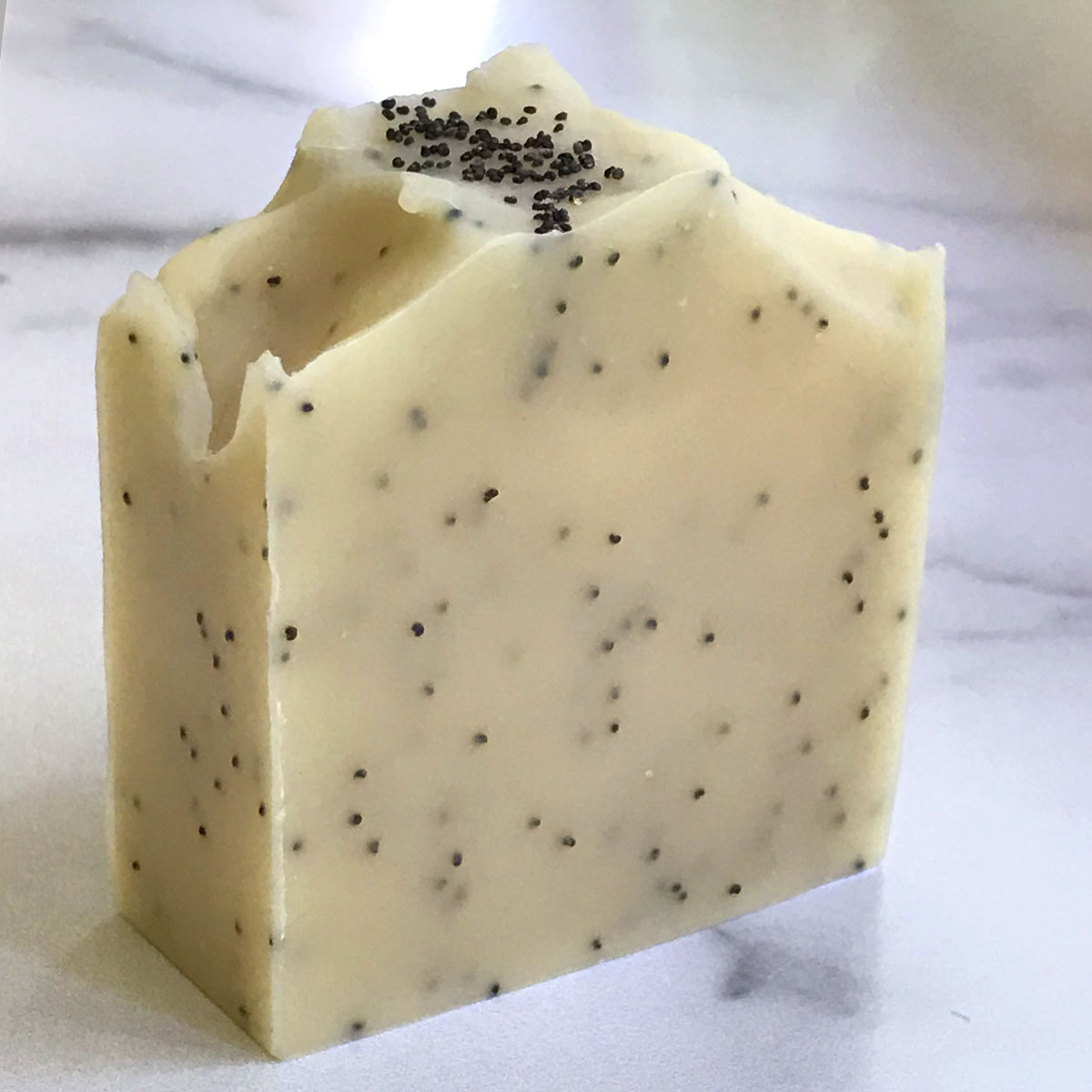 Click to enlarge Lemon Poppy Seed Soap