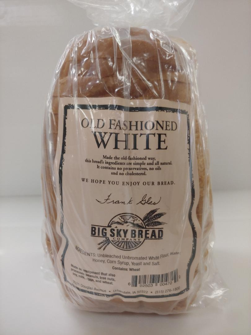 Click to enlarge Old Fashioned White Bread