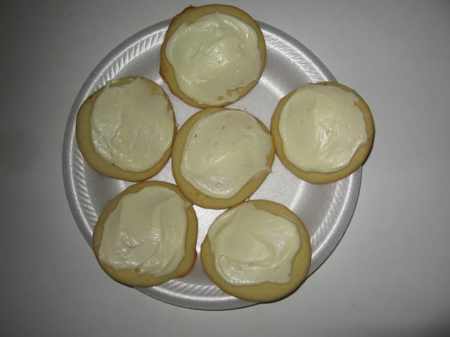 Click to enlarge Frosted Lemon Drop Cookies