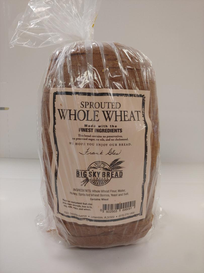 Click to enlarge Sprouted Whole Wheat