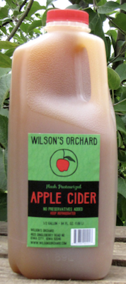 Click to enlarge Wilson's Family Orchard Apple Cider