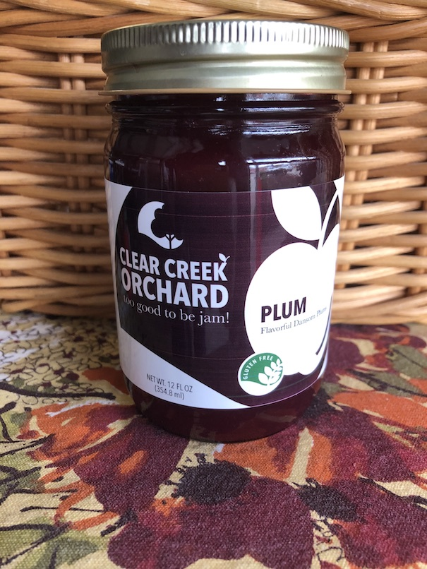Click to enlarge Dansom Plum Jam 12 oz Jar