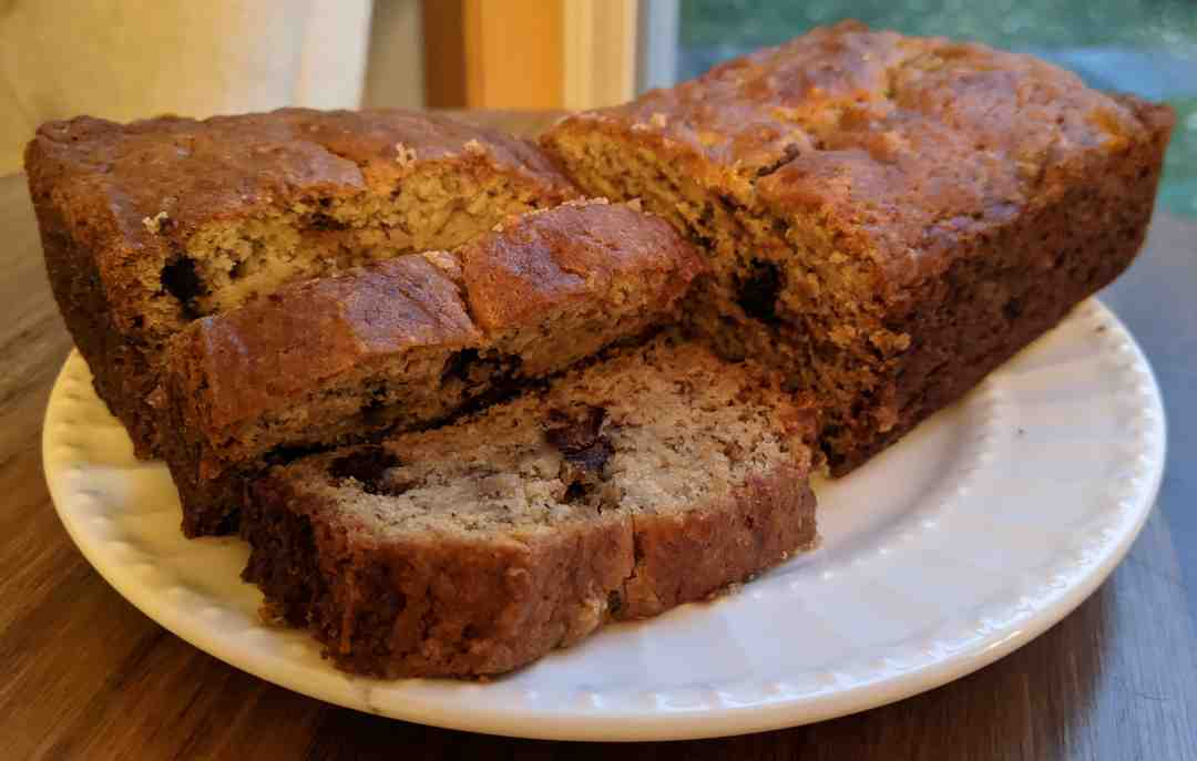 Click to enlarge Gluten Free Chocolate Chip Banana Bread