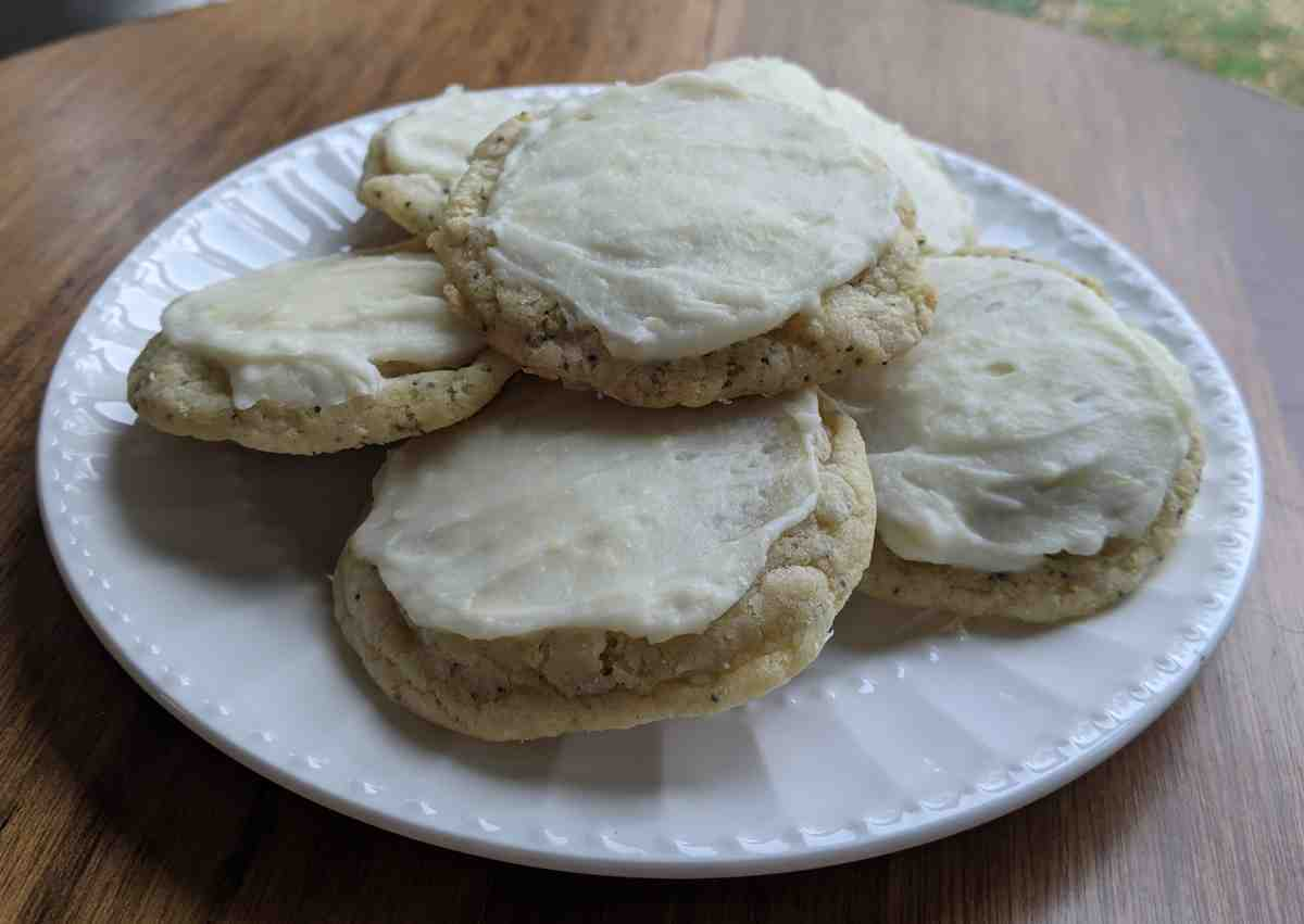 Click to enlarge Gluten Free Lemon Poppyseed Sugar Cookies