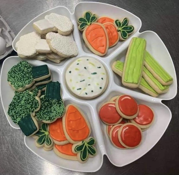 "Click to enlarge ""Veggie"" Cookie Tray"