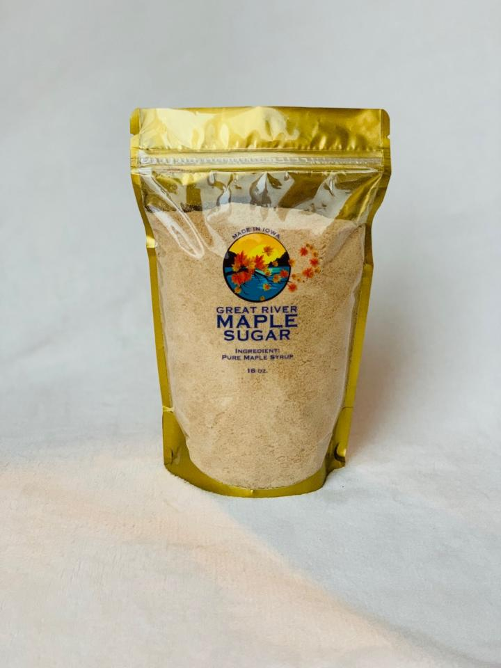 Click to enlarge Pure Maple Sugar - 1 LB Bag!