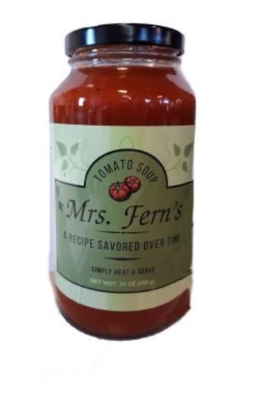 Click to enlarge Mrs. Fern's Tomato Soup