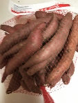 Click to enlarge USDA Certified Organic Sweet Potatoes, Fingerlings,  3 lbs/bag