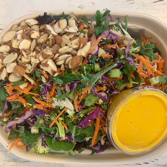 Click to enlarge Colorful Detox Salad w/Carrot Miso Dressing
