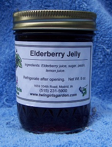Click to enlarge Elderberry Jelly