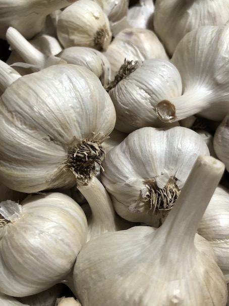Click to enlarge White Garlic B Grade