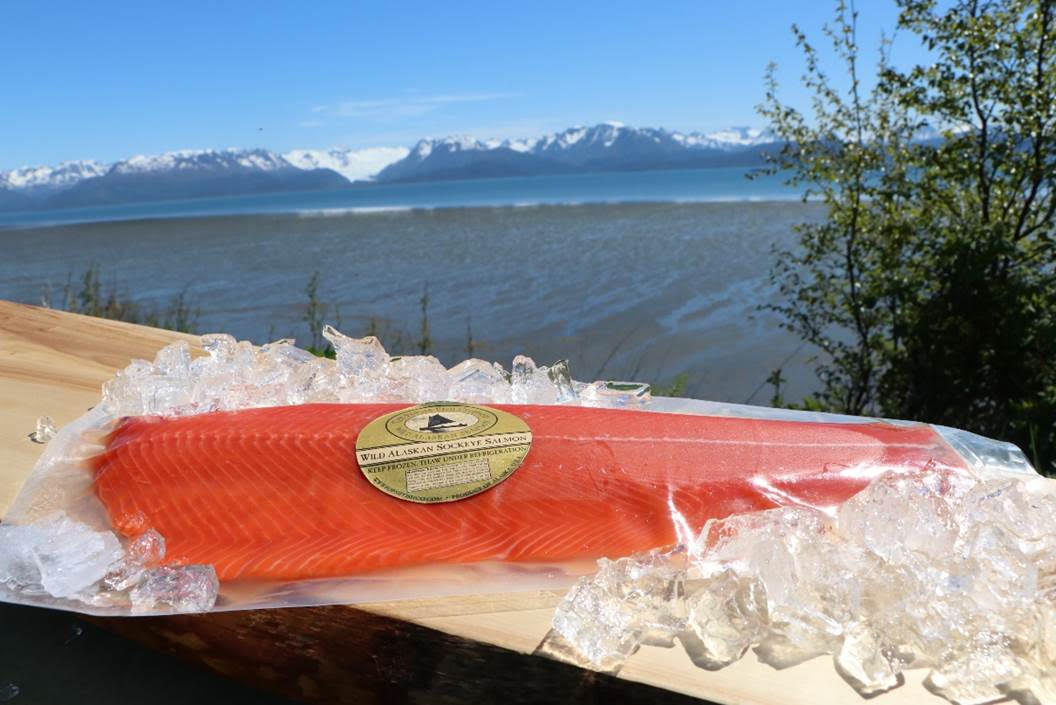 Click to enlarge Sockeye Whole Fillet