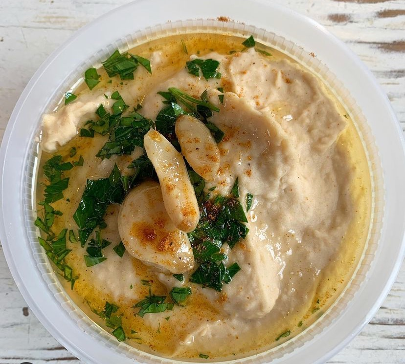 Click to enlarge Ethiopian Berbere Roasted Garlic Hummus