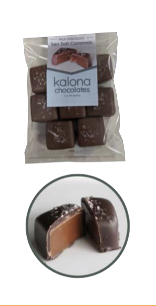 Click to enlarge Kalona Chocolates Sea Salt Caramel