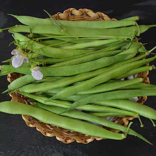 Click to enlarge Climbing French Bean Seed Packet