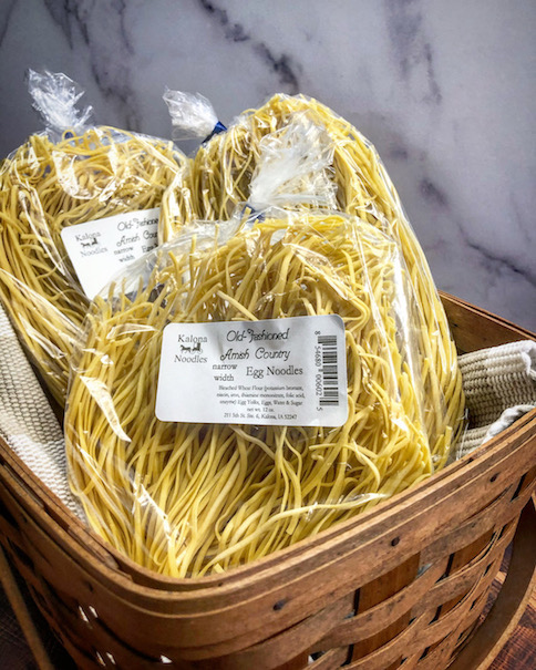 Click to enlarge Amish Country Narrow Width Egg Noodles