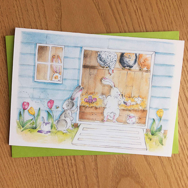 Click to enlarge Easter Egg Card