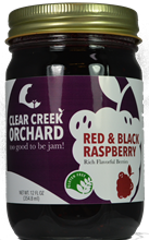 Click to enlarge Red and Black Raspberry Jam