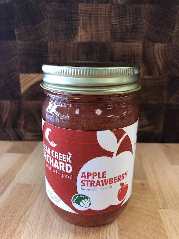 Click to enlarge NEW Apple Strawberry Jam 12oz Jar