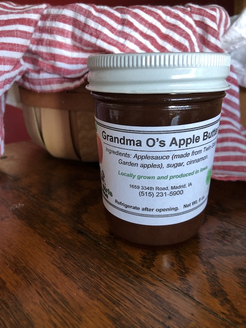 Click to enlarge Grandma O's Apple Butter