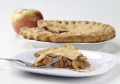 Click to enlarge 2-Crust Apple Pie 9""