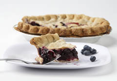 Click to enlarge Blueberry Pie 9""