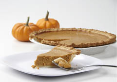 Click to enlarge Pumpkin Pie 9""
