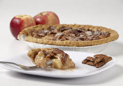 Click to enlarge Pecan Apple Pie 9""