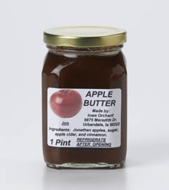 Click to enlarge Apple Butter 1 Pint
