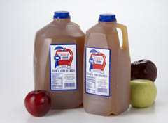 Click to enlarge Apple Cider-Peach 1/2 Gallon