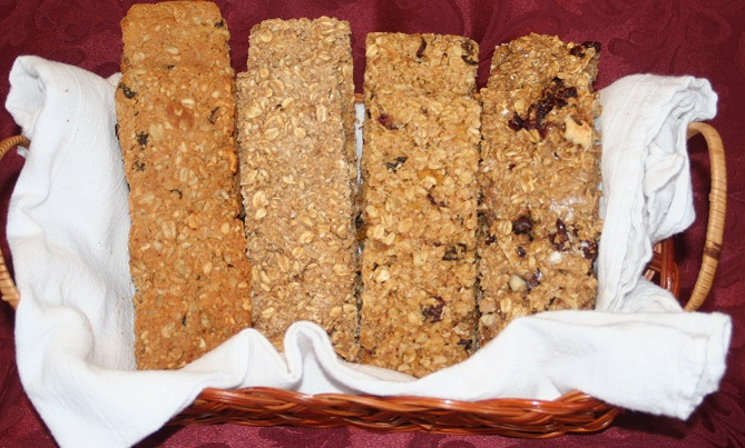 Click to enlarge Granola Bars - Peanut Butter Chocolate Chip