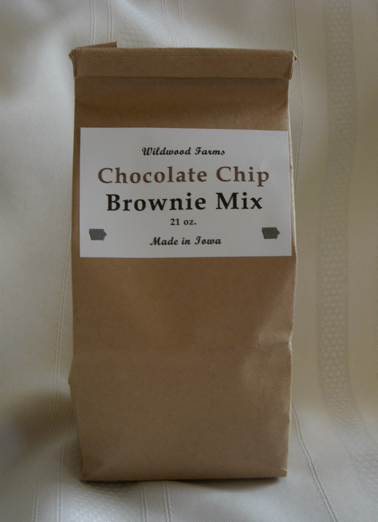 Click to enlarge Chocolate Chip Brownie Mix