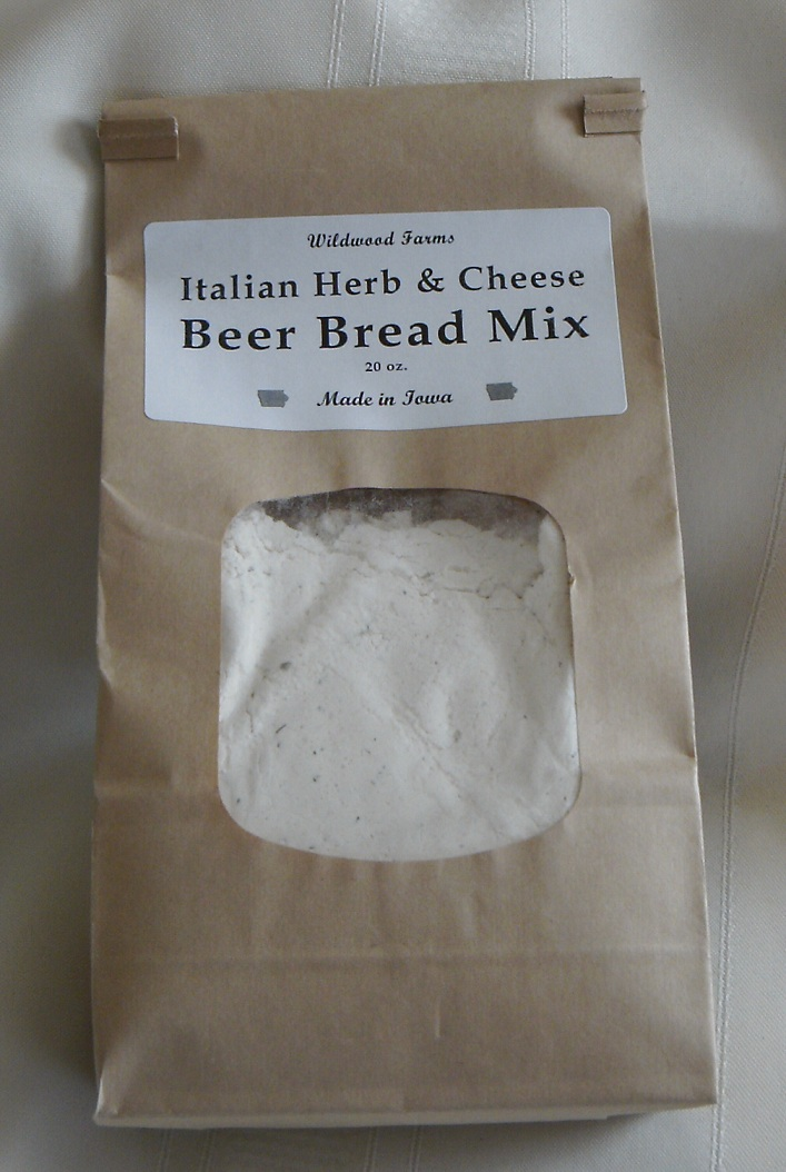 Click to enlarge Italian Herb and Cheese Beer Bread Mix