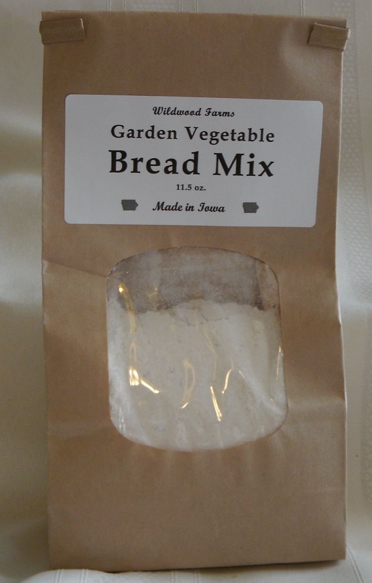 Click to enlarge Garden Vegetable Bread Mix