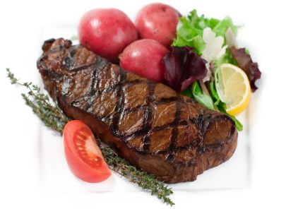 Click to enlarge New York Strip Steak
