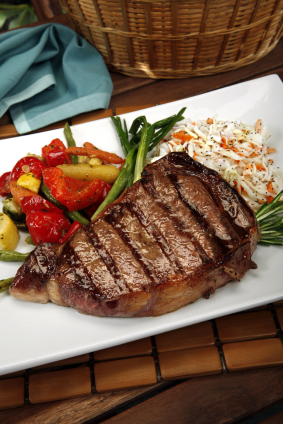 Click to enlarge Rib-Eye Steak