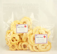 Click to enlarge Apple Rings 4 oz.
