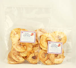 Click to enlarge Apple Rings - Honey Cinnamon 4 oz.
