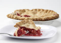 Click to enlarge Frozen Cherry Pie 9""