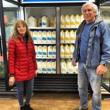 Susan and Francis Thicke from Radiance Dairy