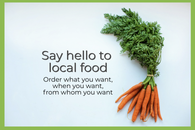 To put it simply: Iowa Food Coop is an online ordering system for Iowa produced food. Our members have access to over 1,500 Iowa produced products, which they order on a bi-weekly schedule.